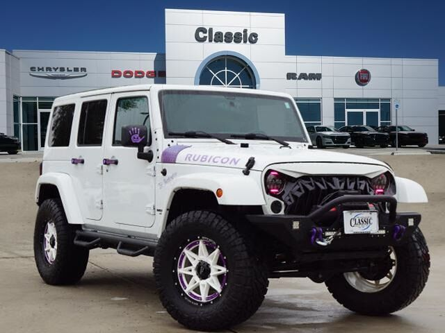 2015 Jeep Wrangler Unlimited Rubicon Arlington TX