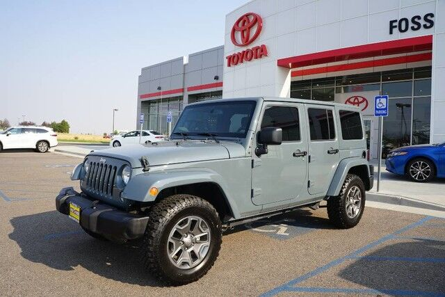 2015 Jeep Wrangler Unlimited Rubicon Casper WY