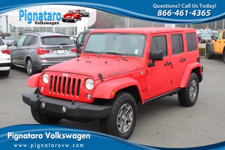 2015 Jeep Wrangler Unlimited Rubicon Everett WA