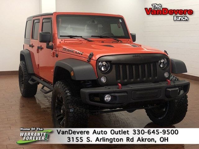 2015 Jeep Wrangler Unlimited Rubicon Hard Rock Akron OH