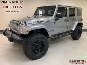 Jeep Wrangler Unlimited Rubicon LIFTED UPGRADES Navigation Clean Carfax 2015