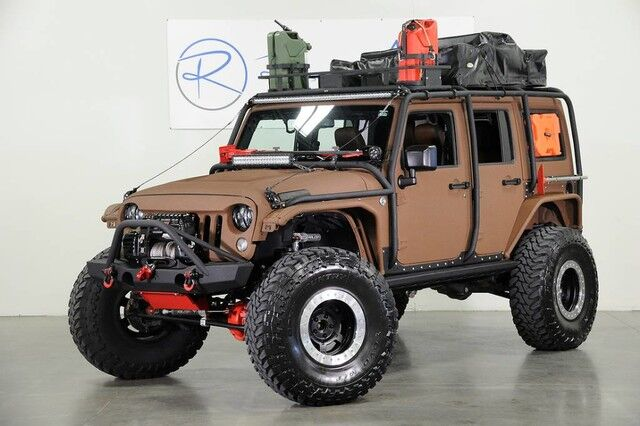 2015 Jeep Wrangler Unlimited Rubicon NOMAD Edition The Colony TX