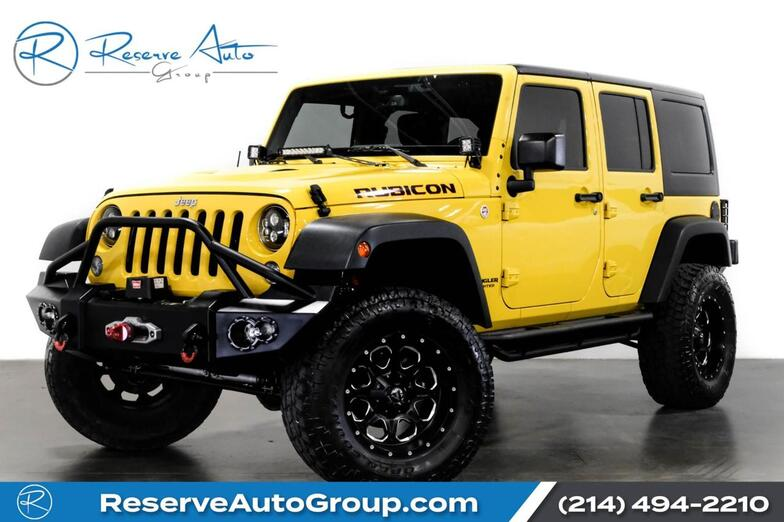2015 Jeep Wrangler Unlimited Rubicon Navigation Lifted Winch 20 Wheels Full Custom The Colony TX