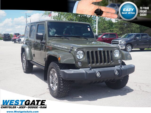 2015 Jeep Wrangler Unlimited Rubicon Plainfield IN