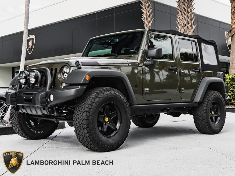 2015 Jeep Wrangler Unlimited Rubicon West Palm Beach FL