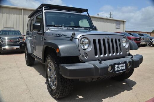2015 Jeep Wrangler Unlimited Rubicon Wylie TX