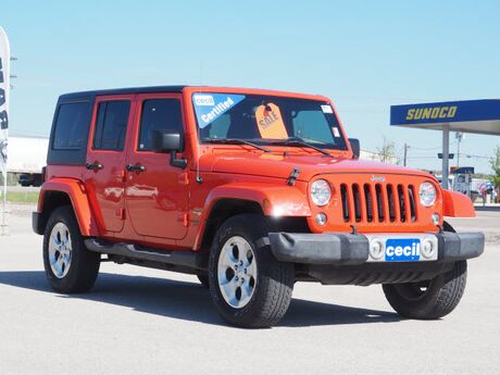 2015 Jeep Wrangler Unlimited Sahara  TX