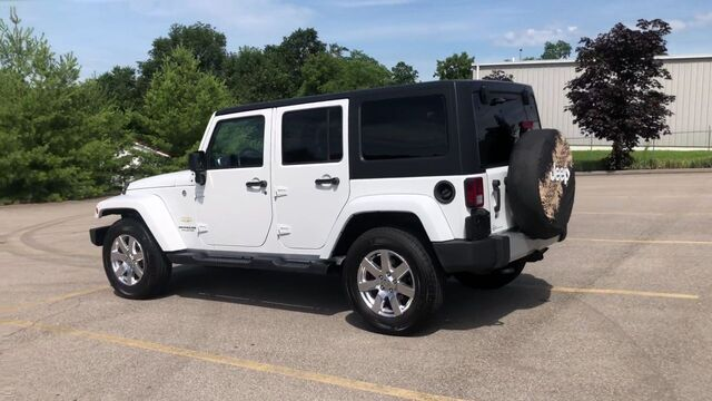 2015 Jeep Wrangler Unlimited Sahara 4WD Frankfort KY