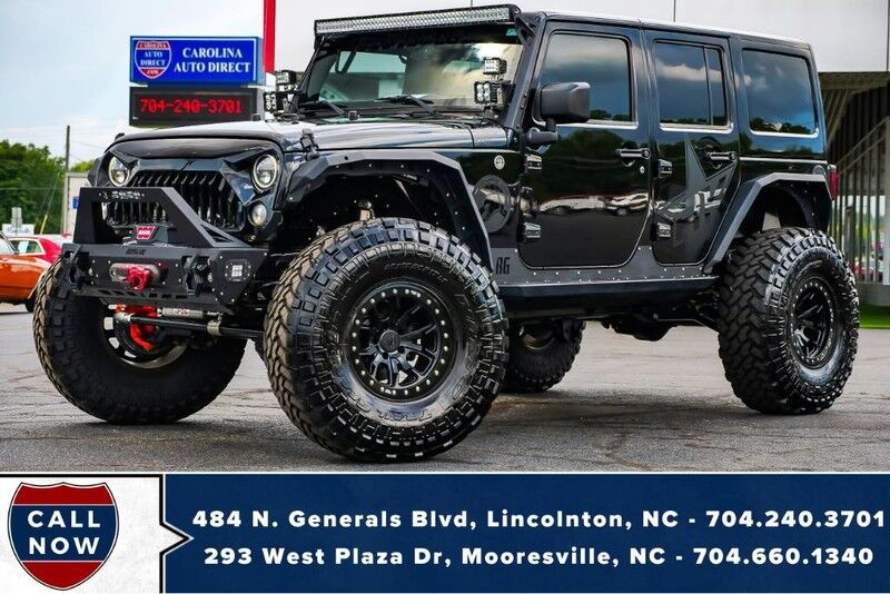 2015 Jeep Wrangler Unlimited Sahara 4X4 **LIFTED** w/ OVER $40K in MODS!!