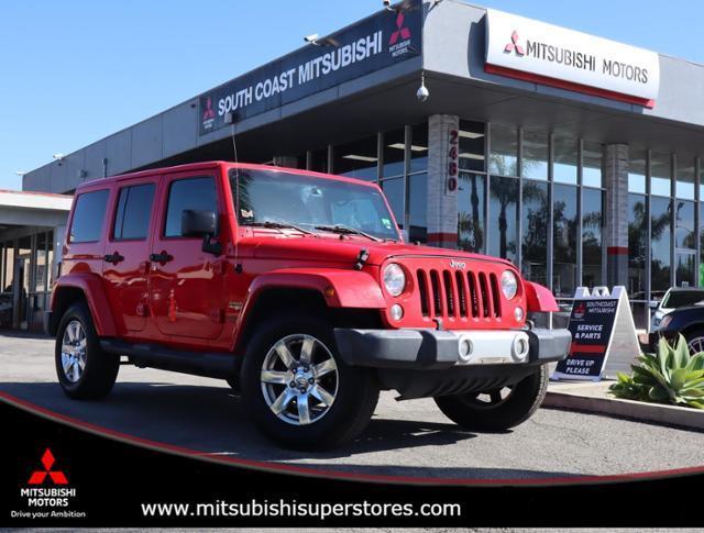 2015 Jeep Wrangler Unlimited Sahara Costa Mesa CA
