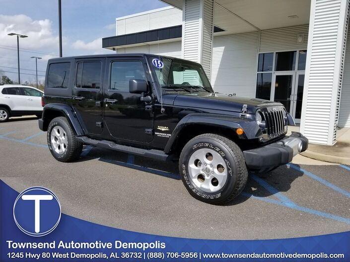 2015 Jeep Wrangler Unlimited Sahara Demopolis AL