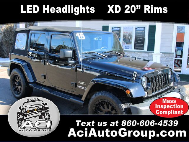 2015 Jeep Wrangler Unlimited Sahara East Windsor CT