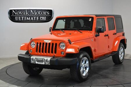 Jeep Wrangler Unlimited Sahara 2015