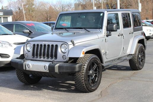 2015 Jeep Wrangler Unlimited Sahara Fort Wayne Auburn and Kendallville IN