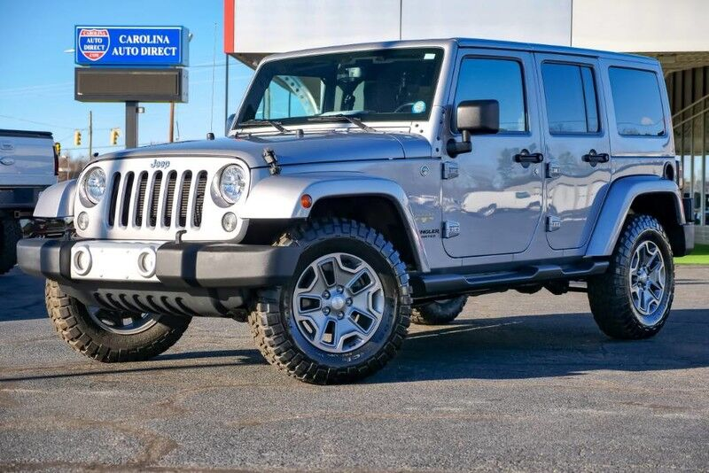 2015 Jeep Wrangler Unlimited Sahara Hard Top w/ Leather Heated Front Seats, Remote Start & Navigation Mooresville NC