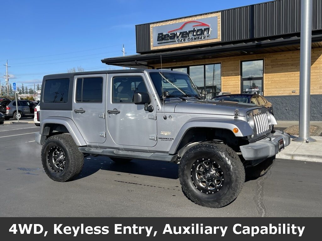 2015 Jeep Wrangler Unlimited Sahara OR