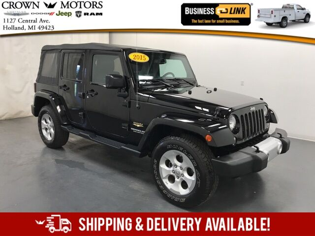 2015 Jeep Wrangler Unlimited Sahara Holland MI