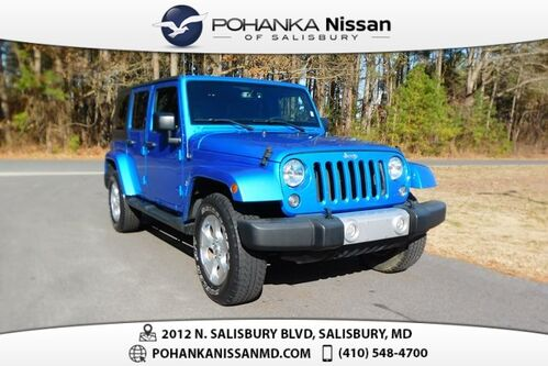 2015_Jeep_Wrangler_Unlimited Sahara Manual Trans_ Salisbury MD