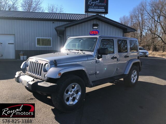 2015 Jeep Wrangler Unlimited Sahara Middlebury IN