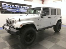 Jeep Wrangler Unlimited Sahara, Mopar 3.5 Lift w/ Fox Shocks, Leather, Nav, New 35 Tires 2015