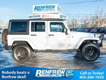 2015_Jeep_Wrangler Unlimited_Sahara, Navigation, Heated Leather, Bluetooth, Remote Start, SiriusXM_ Calgary AB