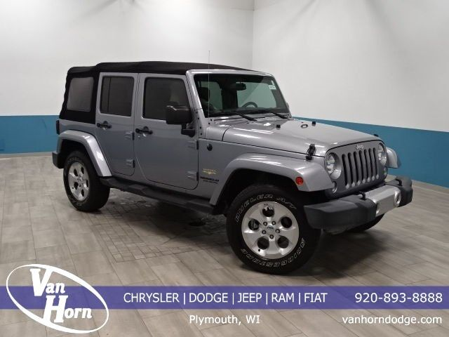 2015 Jeep Wrangler Unlimited Sahara Plymouth WI