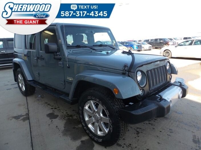 2015 Jeep Wrangler Unlimited Sahara Sherwood Park AB