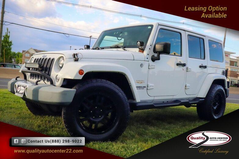 2015 Jeep Wrangler Unlimited Sahara Springfield NJ