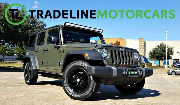 2015 Jeep Wrangler Unlimited Sport 1-OWNER, 4WD, HARDTOP... AND MUCH MORE!!! CARROLLTON TX