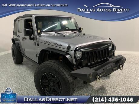 2015 Jeep Wrangler Unlimited Sport Carrollton  TX