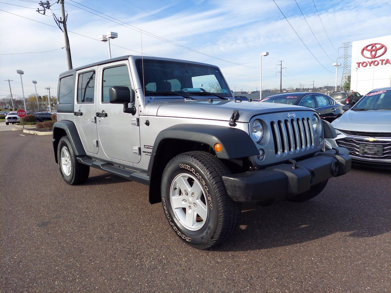2015 Jeep Wrangler Unlimited Sport Conshohocken PA
