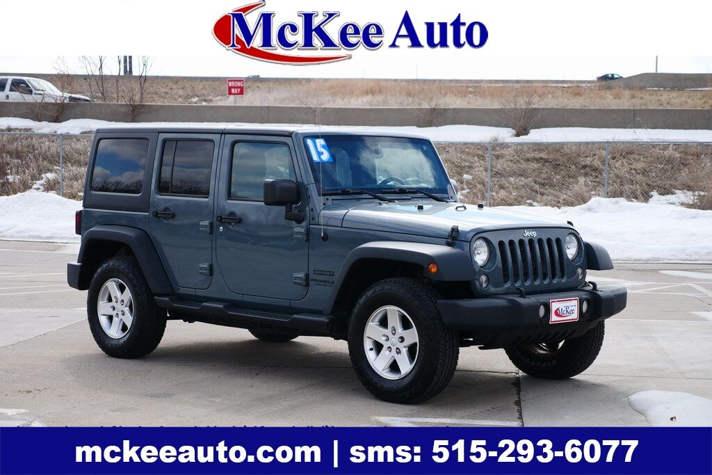 2015 Jeep Wrangler Unlimited Sport Des Moines IA
