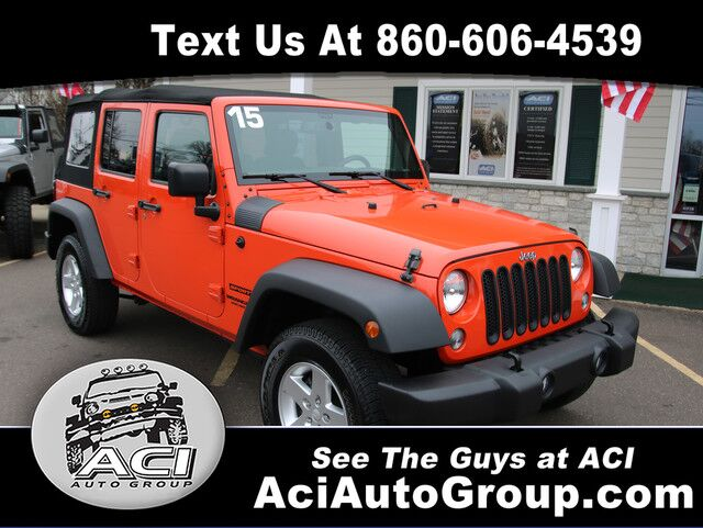 2015 Jeep Wrangler Unlimited Sport East Windsor CT