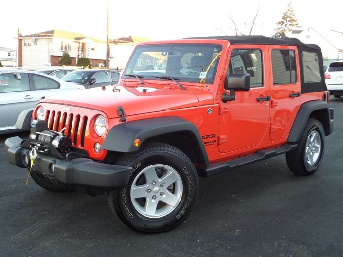 2015 Jeep Wrangler Unlimited Sport Elmont NY
