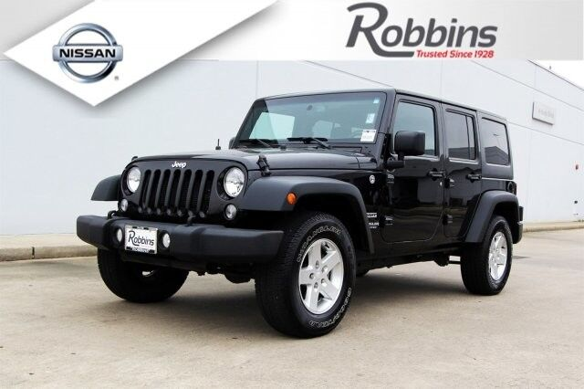 2015 Jeep Wrangler Unlimited Sport Houston TX