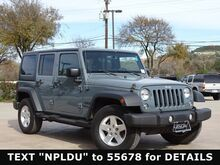 2015 Jeep Wrangler Unlimited Sport San Antonio TX