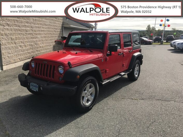 2015 Jeep Wrangler Unlimited Sport Weymouth MA