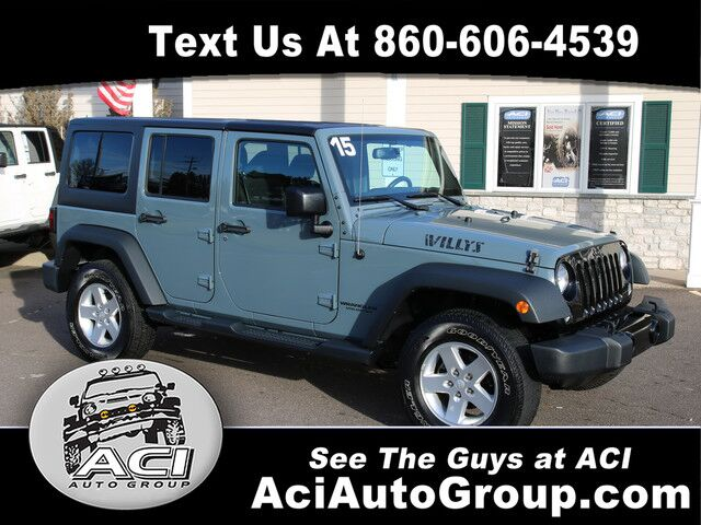 2015 Jeep Wrangler Unlimited Willys Wheeler East Windsor CT