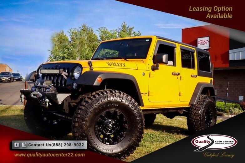 2015 Jeep Wrangler Unlimited Willys Wheeler Hard Top Springfield NJ