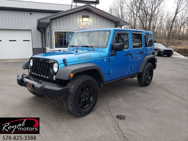 2015 Jeep Wrangler Unlimited Willys Wheeler Middlebury IN