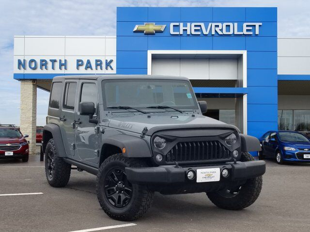 2015 Jeep Wrangler Unlimited Willys Wheeler Castroville Tx
