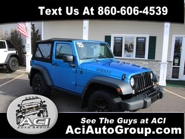 2015 Jeep Wrangler Willys Wheeler East Windsor CT