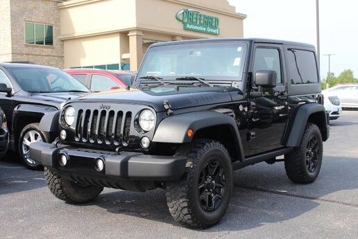 2015 Jeep Wrangler Willys Wheeler Fort Wayne Auburn and Kendallville IN