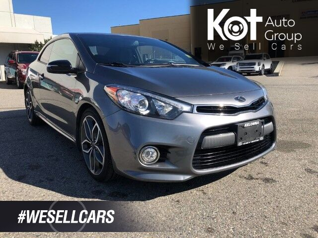 2015 Kia FORTE KOUP SX LUXURY! TURBO! LEATHER! NAV! SUNROOF! HEATED & COOLING SEATS! Kelowna BC