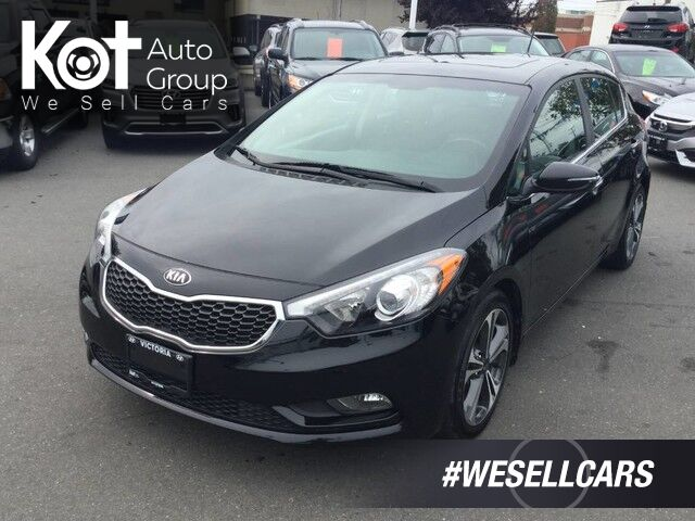 2015 Kia Forte 5-Door EX No Accidents! Backup Camera, Sunroof Kelowna BC