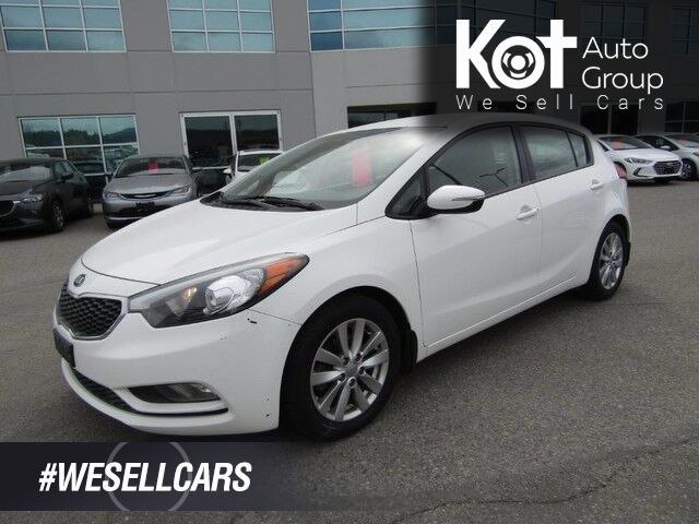 2015 Kia Forte 5-Door LX+. HATCHBACK! LOW PAYMENTS! Kelowna BC