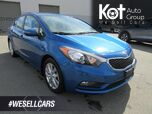2015 Kia Forte LX, + 2ND SET OF TIRES! SUNROOF! BLUETOOTH! 1 OWNER! LOCAL UNIT!