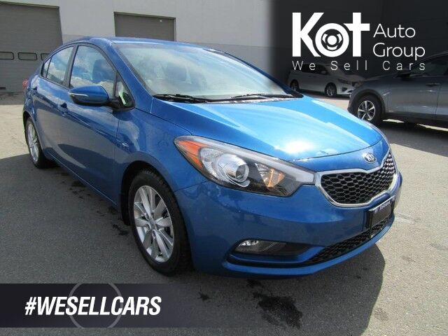 2015 Kia Forte LX, + 2ND SET OF TIRES! SUNROOF! BLUETOOTH! 1 OWNER! LOCAL UNIT! Kelowna BC