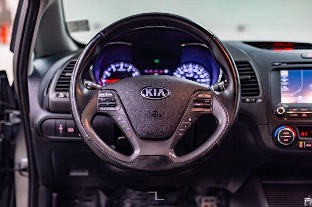 2015 Kia Forte SX Leather Roof Nav BCam Red Deer AB