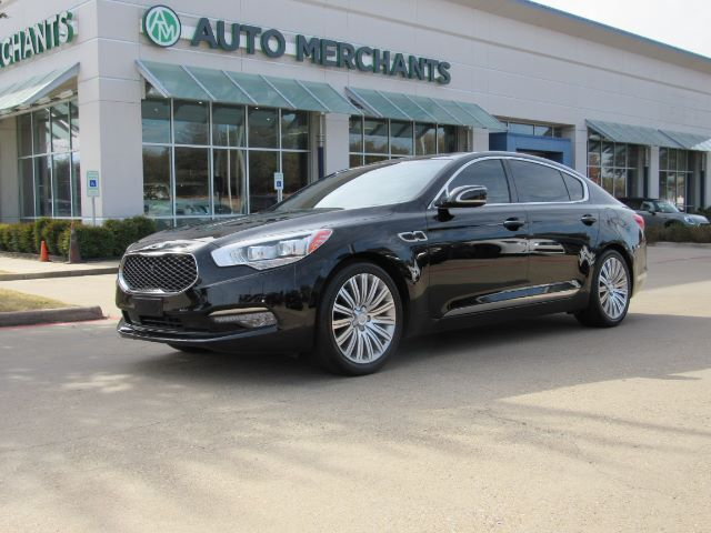 2015 Kia K900 V8, LEATHER SEATS, NAVIGATION SYSTEM, SATELLITE RADIO, REAR PARKING AID, PREMIUM STEREO Plano TX